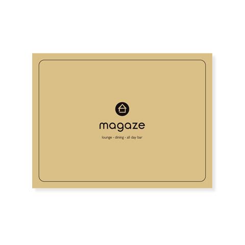 Σουπλά μιας χρήσης για το Magaze