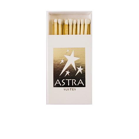 "KX5521: Σπίρτα διάστασης 54x35x8 mm. Εκτύπωση για το ""Astra"""