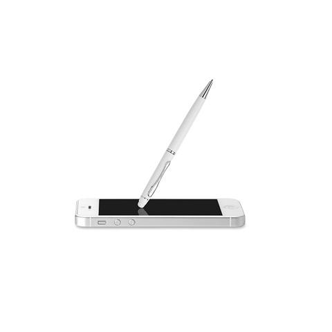 Στυλό από αλουμίνιο σε λευκό χρώμα
