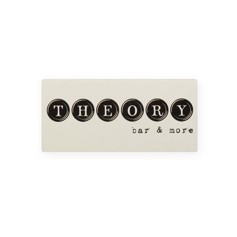 "KX5540: Σπίρτα διάστασης 55x27x9 mm. Εκτύπωση για το ""Theory"""