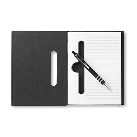 Σημειωματάριο σε μαύρο χρώμα