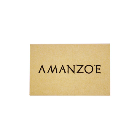 "KX5521: Σπίρτα διάστασης 54x35x8 mm. Εκτύπωση για το ""Amanzoe"""