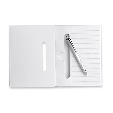 Σημειωματάριο σε λευκό χρώμα