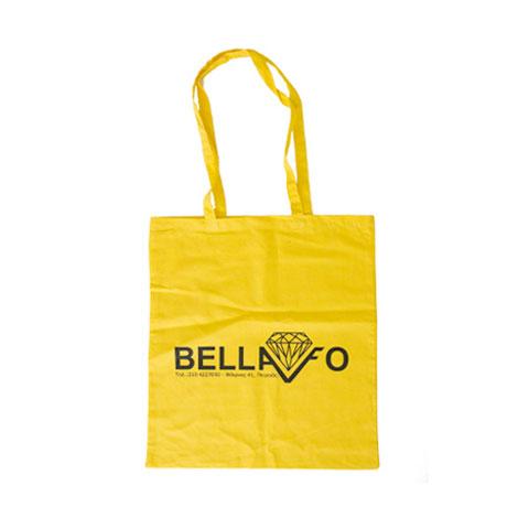 βαμβακερή τσάντα για ψώνια
