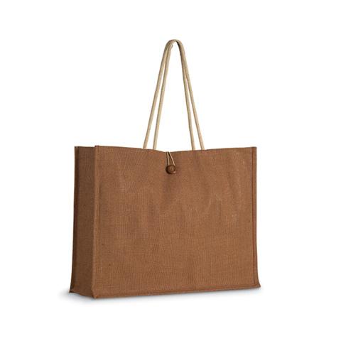 Τσάντα για ψώνια από ύφασμα γιούτα