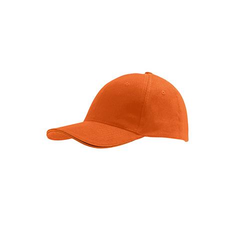 πορτοκαλί καπέλο