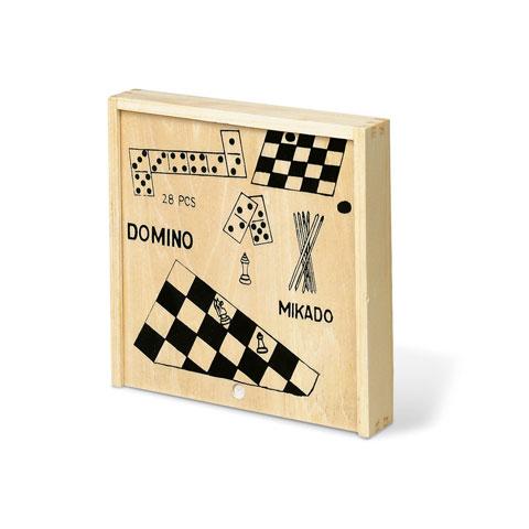 Ξύλινο κουτί παιχνιδιών.