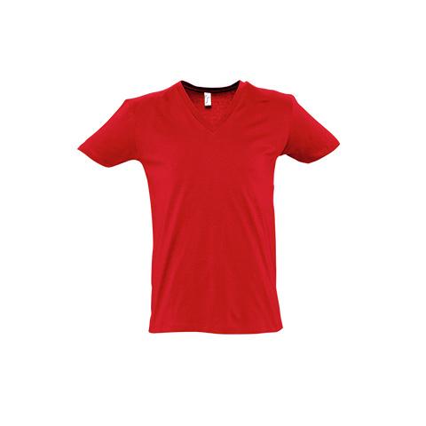 κόκκινη αντρική μπλούζα