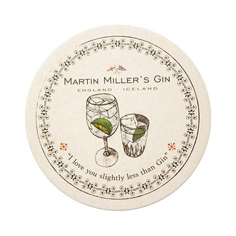 Σουβέρ πολλαπλής χρήσης, Martin Miller's Gin