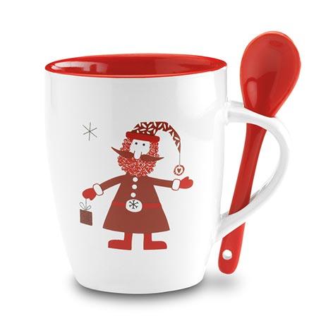 Image of christmas ceramic mug. Xerikosgifts