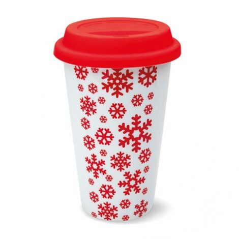 Image of ceramic travel cup. Xerikosgifts