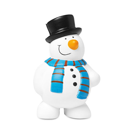 Image of anti-stress snowman. Xerikosgifts