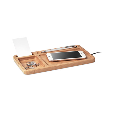 Image of desk wireless charger. Xerikosgifts