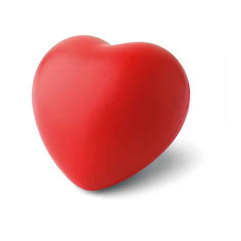 Image of antistress heart ball. Xerikosgifts