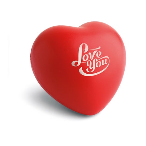 Image of antistress heart ball. Xerikosgifts