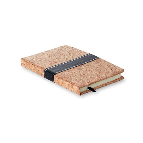 Image of mini notebook cork. Xerikosgifts