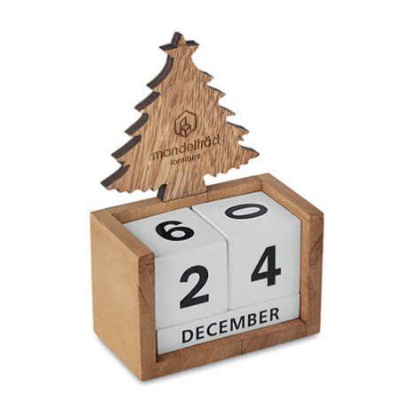 ξυλινο χριστουγεννιάτικο ημερολογιο xerikos gifts
