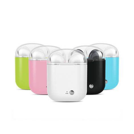 ακουστικά σε διάφορα χρώματα με διάφανο καπάκι - xerikosgifts